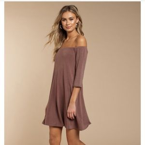 TOBI Mauve Shift Dress